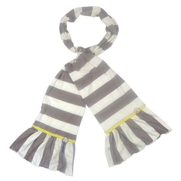 Striped Jersey Scarf