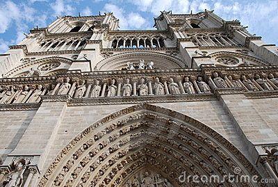 Famous historic castle in  Paris