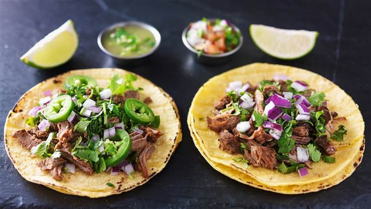 Taco night! I love making my own corn tortillas...it makes a world of difference. This skirt steak taco recipe looks easy & delicious!