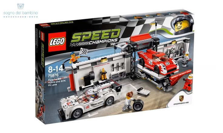 LEGO SPEED CHAMPIONS 75876 Porsche 919 Hybrid and 917K Pit Lane #legoesclusivi  #legochamions