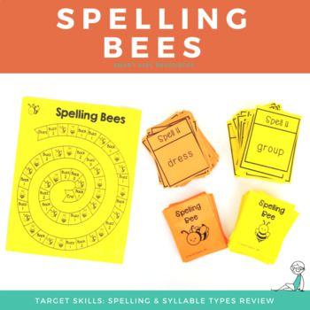 This is a fun way to review spelling single syllable words with short vowels, VCE, r-controlled vowels, vowel teams, and open syllables. There are many ways this game can be adapted and you can add in as few or as many cards as you need to get in practiced review. Kids love that this game is fun and engaging, and we love that is helps them practice their skills and make growth!