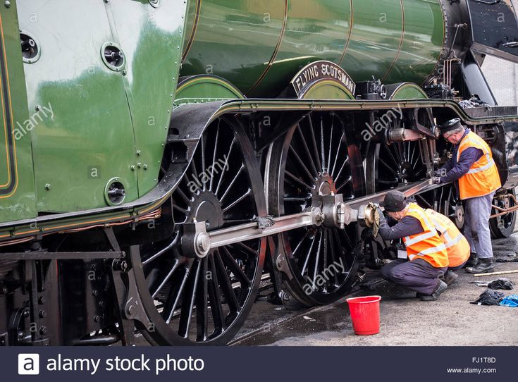 The A3 Steam Engine Flying Scotsman at The National Railway Museum in Stock Photo, Royalty Free Image: 97156653 - Alamy