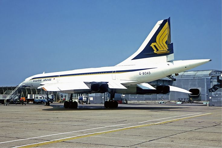 A rare high quality photo of Aérospatiale-BAC Concorde G-BOAD when she was operating a joint service with British Airways and Singapore Airlines. The left side of the aircraft was painted in SQ livery, while the right side remained in BA livery. The service was SIN-LHR with a tech stop in Bahrain. Cockpit crew were from BA while Cabin crew were SQ.