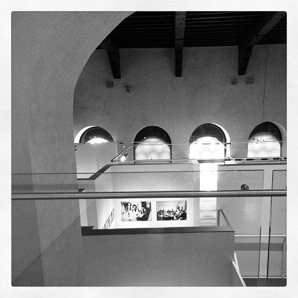 Mostra Sandro Becchetti a Perugia, presso GNU - Galleria Nazionale dell'Umbria - un'altra veduta