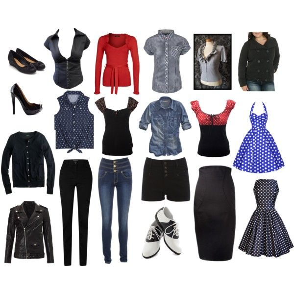 Pinup/Rockabilly inspired Wardrobe by pennyroyaltea03 on Polyvore