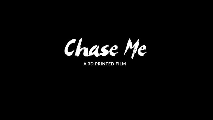 Filmmaker Gilles-Alexandre Deschaud spent two years creating the stop-motion animation film, Chase Me, from 2,500 3D-printed pieces