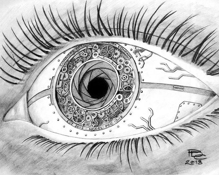 steampunktendencies:  Clockwork eye ~ Patrick Connors Facebook | Google +|Twitter Steampunk Tendencies Official Group