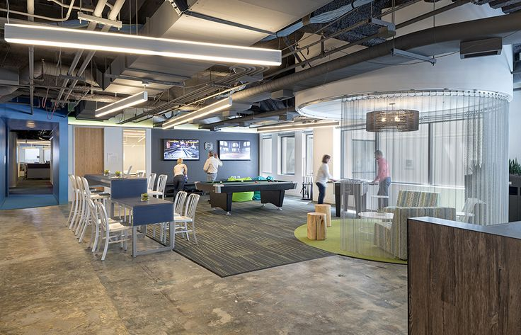 11 best images about office work and play on pinterest for Best tech office designs