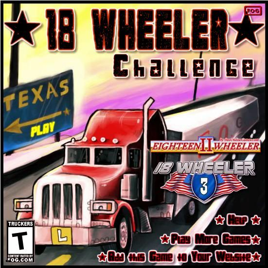 18 Wheeler 2 - The objective of the game is to park your truck carefully in specific locations.