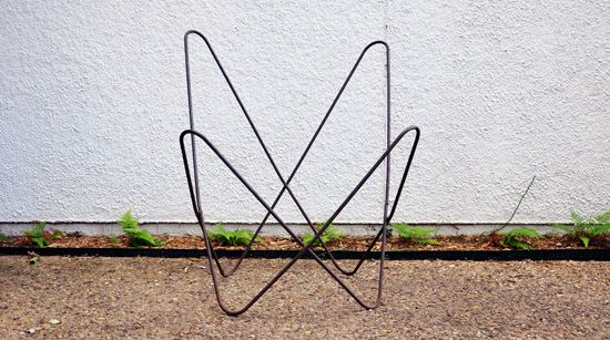 How To Clean Up An Original Hardoy Butterfly Chair Frame