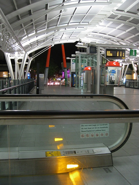 Subiaco Station by night