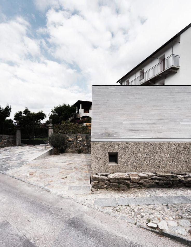 studio inches architettura, Simone Bossi · Nuovo Padiglione per il Museo MeCrì