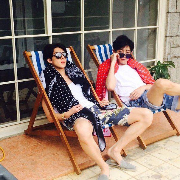Hyung and Maknae