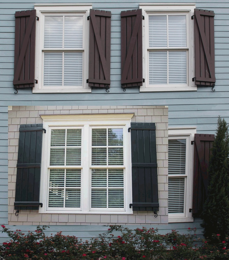 20 best images about shutters on pinterest red shutters diy shutters and vinyl shutters - Types shutters consider windows ...