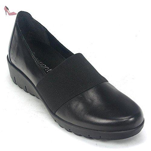 Damen Slipper - antic schwarz, Farbe:schwarz;Größe:40