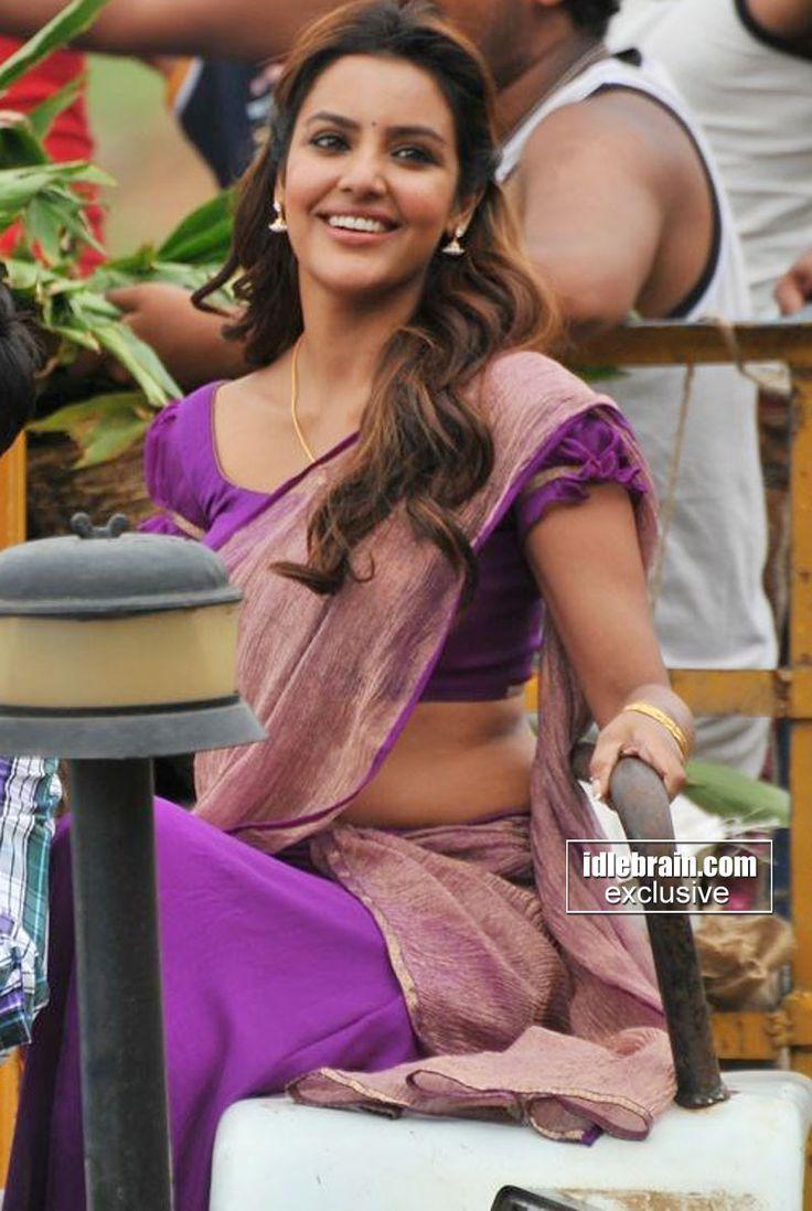 Priya in purple.
