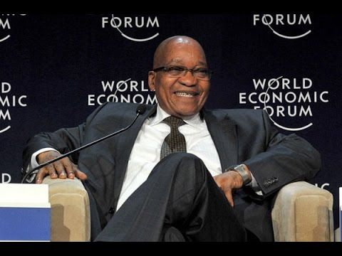 What a joke and huge embarrassment.......President Jacob Zuma speaks about Africa