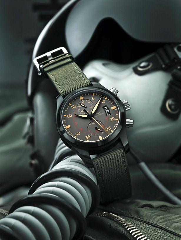 IWC Fliegeruhr Chronograph TOP GUN Miramar > IWC Uhren, IWC Schaffhausen, IWC Fliegerchronograph > Uhrenmagazin Onchrono