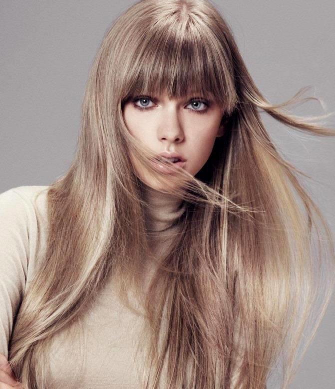 Светлые красивые оттенки волос фото