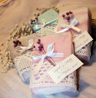 Jabones artesanales para bodas buscar con google chuy - Como hacer puff artesanales ...