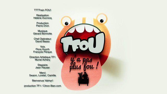 ▶ HABILLAGE TV pour TF1 par Hélène Ducrocq ◀  Père et fille prennent place à bord d'un wagonnet de train fantôme un peu fou. Celui-ci s'emballe et les ejecte… hors de la gorge du logo TFOU !  L'occasion pour Citron Bien d'illustrer la nouvelle signature de TFOU (la case jeunesse de la chaine TV TF1) : « Tfou, y'a pas plus Fou ! » avec un nouveau tournage en animation stratastencil (papier découpé filmé dans le sens de la profondeur). Réalisé par et chez www.citronbien.com
