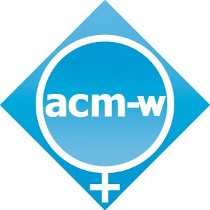 The women's section of the ACM which seeks the recruitment and retention of women in the fields of computing. Can be found  @ women.acm.org.