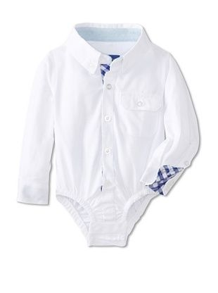 47% OFF Beetle & Thread Kid's Oxford Shirtzie (White)