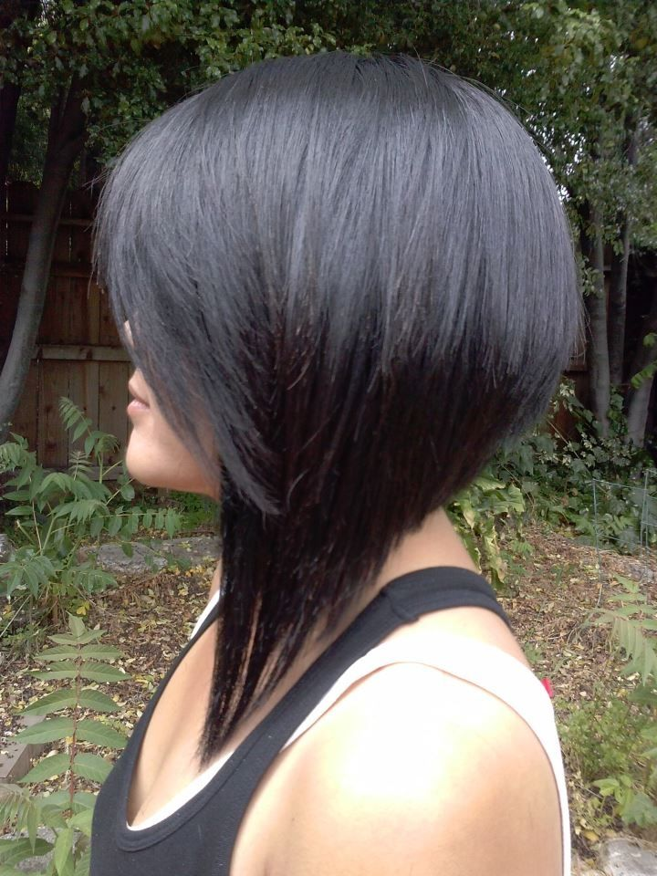 Dramatic A-Line Bob Hairstyles