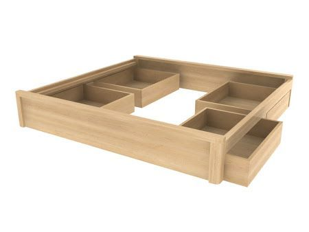 Plaform Bed With Storage