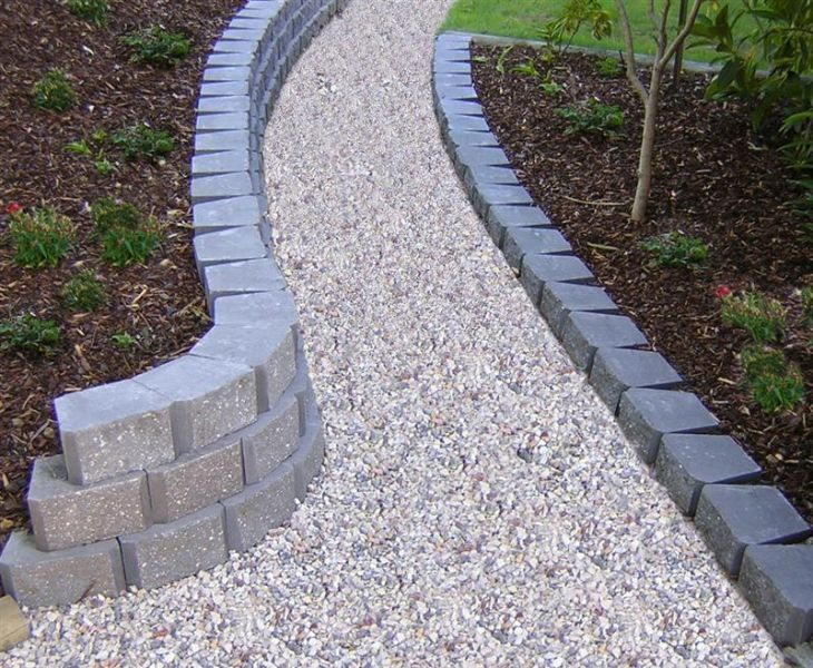 Mowing Strips Edging Island Block Paving Kerbs Edging HOUS