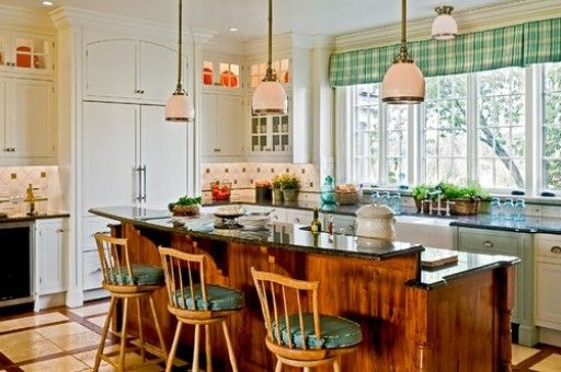Shine Colorful Country Kitchen Country Kitchen Plan For Large Kitchen
