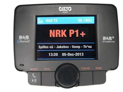 Tiny Audio C3 DAB adapter til bil | Satelittservice tilbyr bla. HDTV, DVD, hjemmekino, parabol, data, satelittutstyr