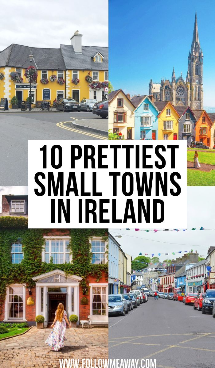 10 Prettiest Small Towns In Ireland + Map To Find Them #travel