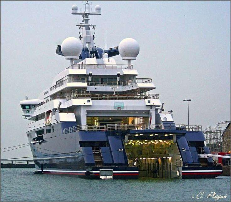 octopus yacht | OCTOPUS - IMO 1007213 - Callsign ZCIS - ShipSpotting.com - Ship Photos ...