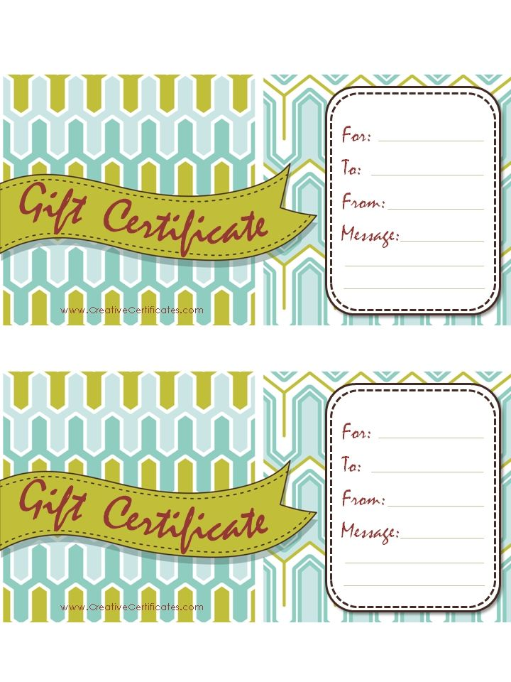 Gift Certificate Free Printable Template Gift Certificate - copy hotel gift certificate template