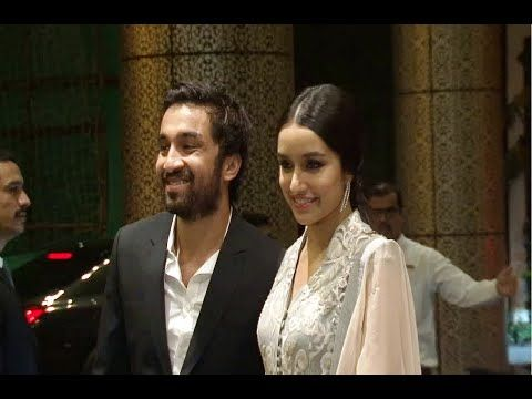 WATCH Shraddha Kapoor at Shahid Kapoor and Mira Rajput's wedding reception. See the full video at : https://youtu.be/3CGOP11MYwc #shraddhakapoor