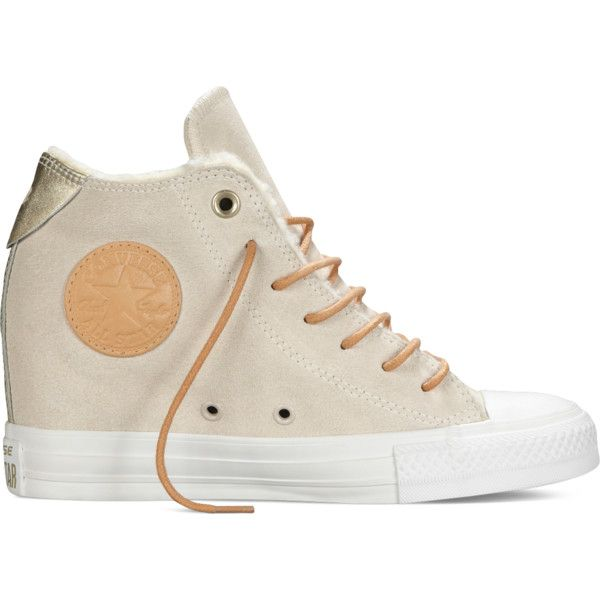 Converse Chuck Taylor All Star Lux Wedge Chinese New Year – white ($70) ❤ liked on Polyvore featuring shoes, sneakers, white, star shoes, wedge sneakers, white trainers, star sneakers and converse sneakers