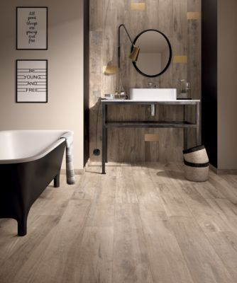 Great Legend Sand Wood Plank Porcelain Tile