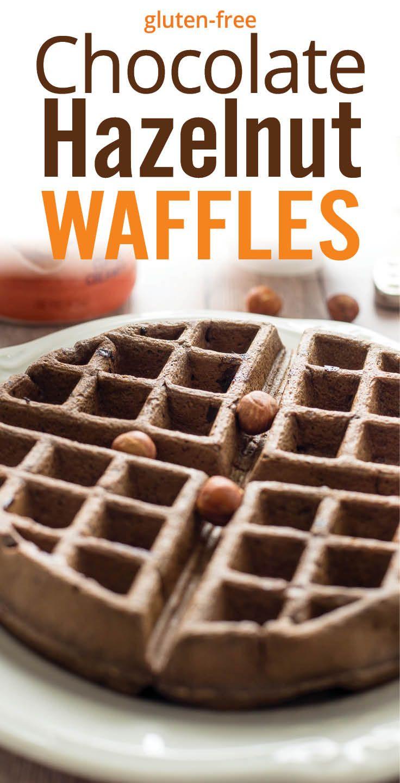 free chocolate hazelnut waffles chocolate waffles chocolate hazelnut ...