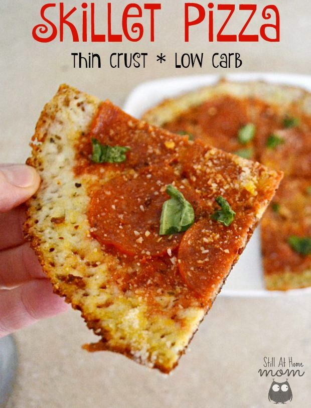 Quick & Easy Low-Carb Skillet Pizza