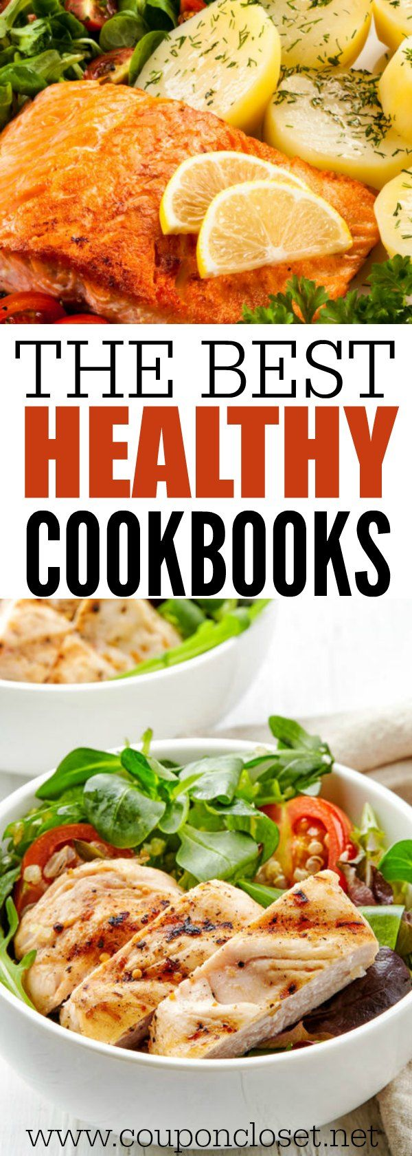 Here are 25 of the best Healthy cookbooks that will inspire you to be healthy. Find great tasting healthy recipes in these healthy cookbooks.