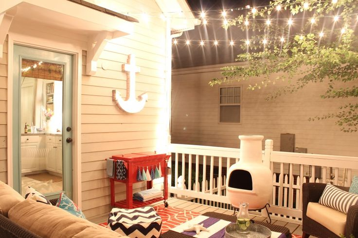 My Favourite Room over at Savvy Southern Style {and Friday's Fab Five} - The Happy Housie