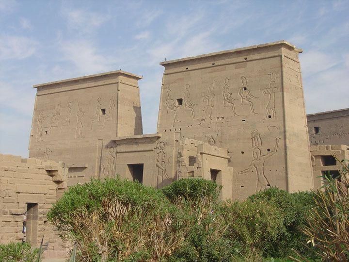 Philae island and temple, Aswan, Egypt - Travel Photos by Galen R Frysinger, Sheboygan, Wisconsin