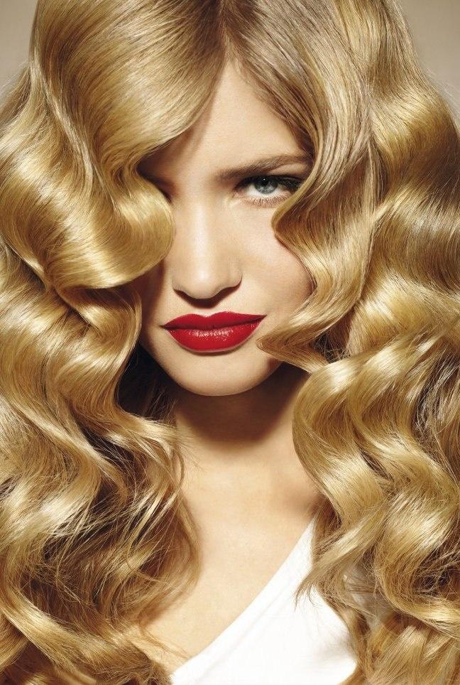 DIY Curl Hair w Straightner