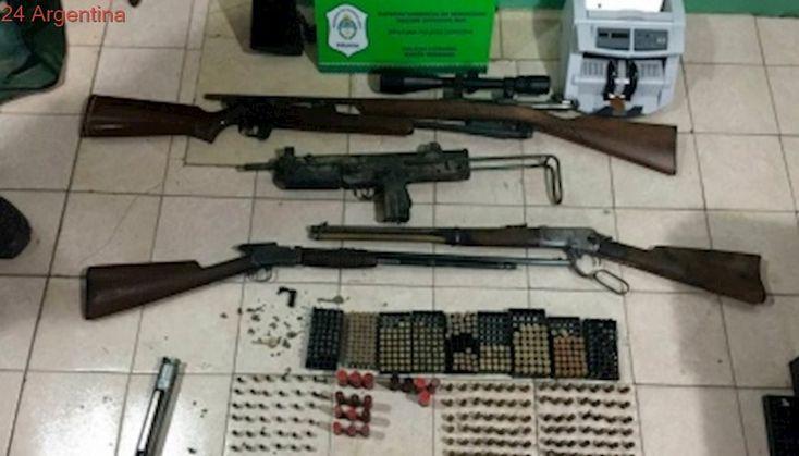 Hallan armas de fuego que estarían vinculadas a la Uocra Bahía Blanca