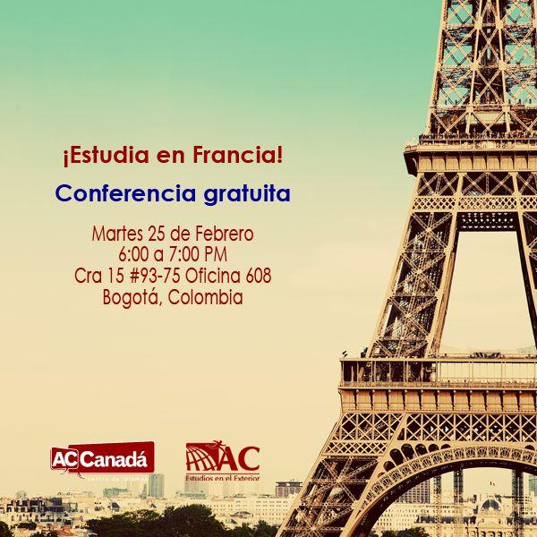 ¿Has pensado en estudiar en Francia? Conoce, trabaja y estudia en uno de los países más bellos de Europa. Estudia con AC estudios en el Exterior, participa en su conferencia gratuita.  Inscríbete: http://190.144.31.94/acsolutions/jobs/publicregistro/RFloRzkzYjBxeUpmSXhmczJndVZvVXViV3d2bmlSMkcwRmdhQzltYXNkYXNkaQ==:7685934234309657453542496749683645/Y2FtcGFpbg==:27/a2V5Zm9ybQ==:RFloRzkzYjBxeUpmSXhmczJndVZvVXViV3d2bmlSMkcwRmdhQzltYXNkYXNkaQ==