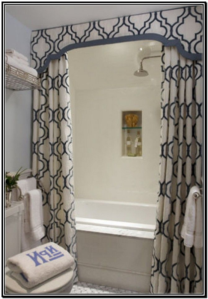 Elegant Shower Curtains | Elegant Fabric Shower Curtains With Valance