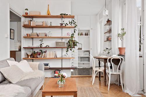 Amenajare delicată și feminină într-un apartament de numai 38 m² / Jurnal de design interior