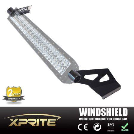 Xprite 50 inch Straight Curved LED Light Bar Mount Bracket for Dodge RAM 1500 2500 3500 (Mounting Bracket Only)