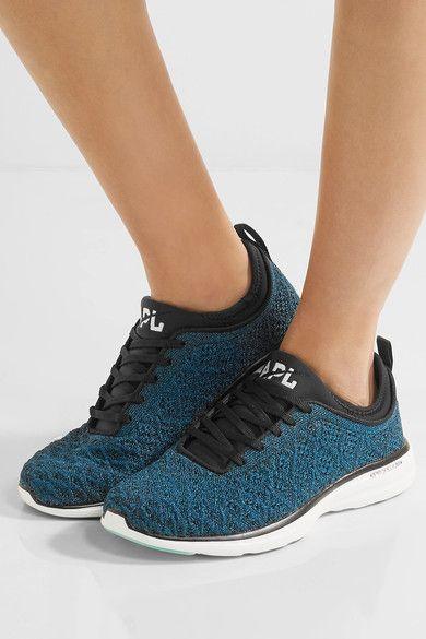 Athletic Propulsion Labs   TechLoom Phantom metallic mesh sneakers    NET-A-PORTER.COM